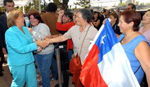 Presidenta Bachelet cumple compromiso de campaña: seis mil nuevos carabineros en las calles en los próximos cuatro años