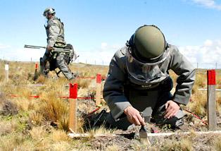A 30 años de su instalación, militares chilenos iniciaron retiro de 5.485 minas