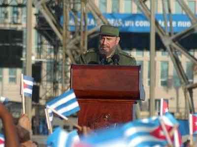 Mensaje de Fidel Castro al pueblo de Cuba