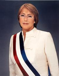 Presidenta Bachelet saluda a los chilenos en el exterior