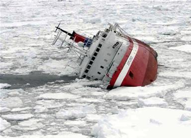 Parte primer avión Hércules a la Antártica para rescatar a los 154 pasajeros de crucero