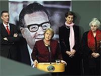 Bachelet encabezó el principal acto por natalicio de Allende