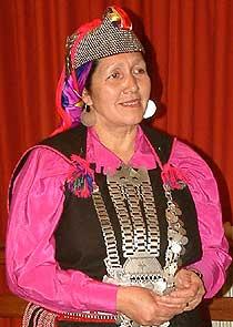 Lonko Juana Calfunao Paillalef
