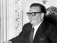 Allende fue elegido como el chileno más grande de la historia