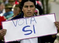 VIDEO: Ecuador votó por nueva Constitución.