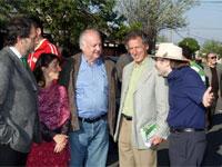 Timonel PC respalda campaña en terreno de candidato PPD