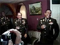 General peruano lanza consigna antichilena en reunión social
