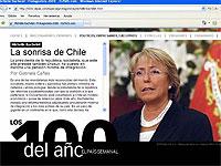 "Bachelet en ""El País"""