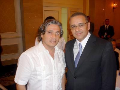 Navarro se reunió con Presidente y Vicepresidente de El Salvador