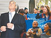 Piñera desafía a pobladores de Cerro Navia