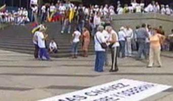 Movilizaciones en Latinoamérica y Europa apoyaron a Chávez y rechazaron injerencia de EE.UU.