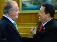 Hugo Chávez en España