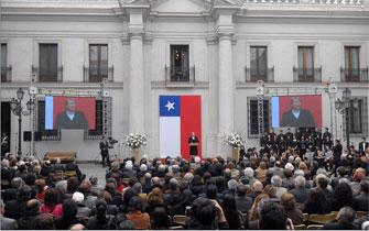 Allende encarna ejemplo universal