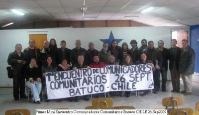 Primer encuentro de Comunicadores comunitarios Batuco-Chile