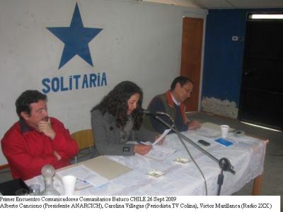 Encuentro de Comunicadores en Batuco: fotos