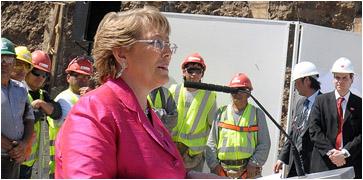 Bachelet insta a no ponerse nerviositos ante elección