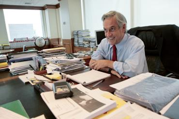 Los gerentes que manejan las platas de la campaña de Sebastián Piñera