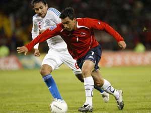 Chile derrotó a Paraguay en inauguración del Estadio CAP