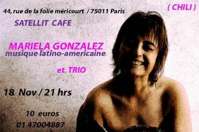 CONCERT de MARIELA GONZALEZ au SATELLIT CAFE