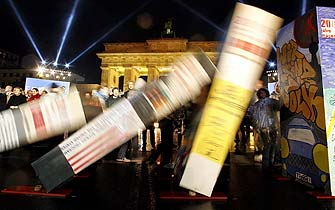 Fiesta en Berlín para recordar la caída del muro