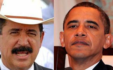Carta del presidente Zelaya a Barck Obama