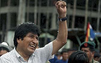 Bolivianos ratifican el proyecto de Evo Morales