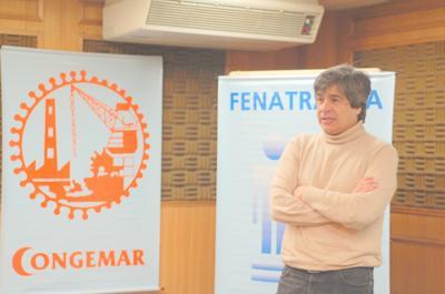 Jorge Bustos, Presidente de la Confederación de la Gente de Mar: