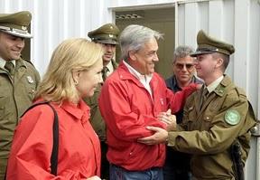 Piñera: Represión, seducción y fasto