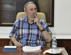 Reflexiones de Fidel Castro: Estoy listo para seguir discutiendo