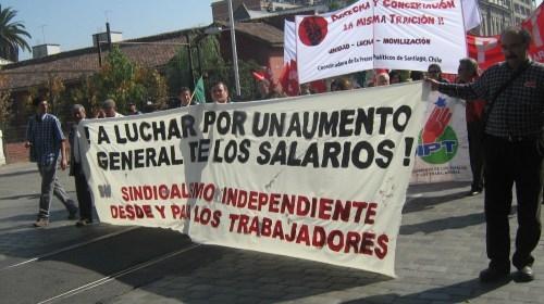 El reciente Primero de Mayo en Chile
