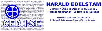 DECLARACION PÚBLICA de  Harald Edelstam