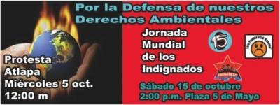 FRENTE A LA CONFERENCIA DE LA NACIONES UNIDAS SOBRE CAMBIO CLIMÁTICO EN NUESTRO PAÍS