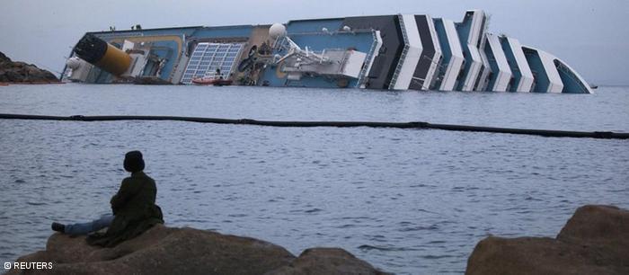 ¿Cuál será el destino del Costa Concordia?