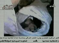 Video que muestra el cuerpo de Sadam Husein tras su ejecución.