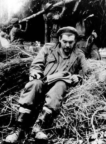 El Che, en el Congo, en 1965.