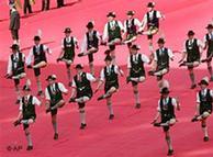 La tradicional danza bávara de los