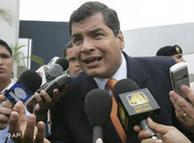 Rafael Correa, la opción social.