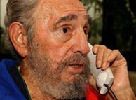 La última imagen de Fidel Castro en el hospital donde está internado.
