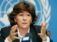 Para la Alta Comisionada de la ONU, no hay derechos humanos con pobreza.