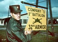 Como soldado Presley fue destinado a Friedberg, en donde sirvió como soldado durante 18 meses.