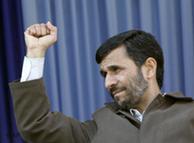 El presidente iraní, Mahmud Ahmadineyad, conocido por su discurso estridente.