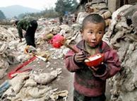 La pobreza es uno de los motores de la emigración.