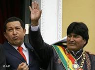 En la ONU, Chávez quiere consolidar un bloque en el que figura también Bolivia.