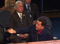 Hugo Chavez insiste e insiste.