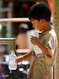 No hay agua para todos.