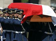 Funeral: Chile dice adiós a una parte triste de su hisotoria.