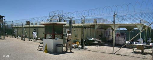 La prisión de máxima seguridad en el Campo Delta, Guantánamo.