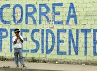 Rafael Correa apostó por llevar las reivindicaciones indígenas al Gobierno.