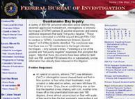 Reporte de la Policía Federal de Investigaciones, FBI, publicado en internet.