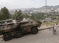 Tanques en las favelas de Brasil. ¿Serán alemanes?